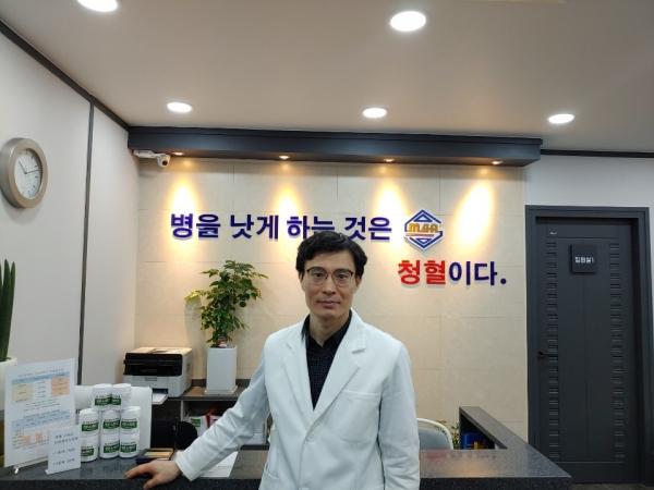 청혈센터 한의원  박종오 원장[사진=비센비이오]